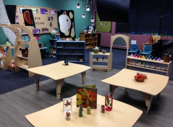 Natural Pod - Mariners Church Preschool - Furniture Setup - 10