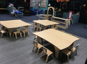 Natural Pod - Mariners Church Preschool - Furniture Setup - 11