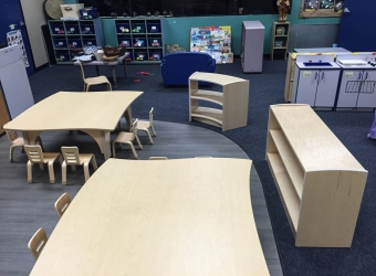Natural Pod - Mariners Church Preschool - Furniture Setup - 15