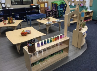 Natural Pod - Mariners Church Preschool - Furniture Setup - 19