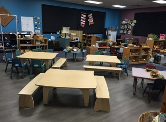 Natural Pod - Mariners Church Preschool - Furniture Setup - 21