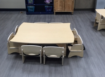 Natural Pod - Mariners Church Preschool - Furniture Setup - 25