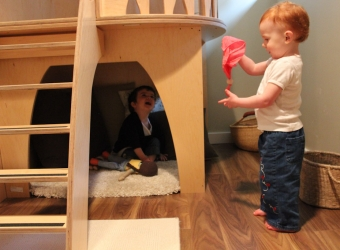 Natural Pod - Megan Fraser - Play Loft - Exploring