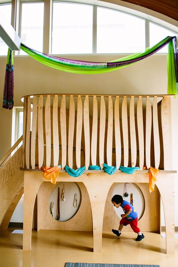 Natural Pod - Play Loft - Silks