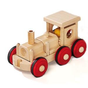 Natural Pod - Fagus Puzzle Mobile - Locomotive