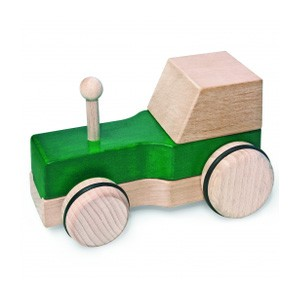 Natural Pod - Fagus Puzzle Mobile - Tractor Green