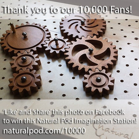 Thank You to our 10,000+ Fans ~ Win an Imagination Station