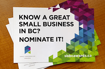 BC Business Awards ~ Best Green Business ~ Top 5 Finalist