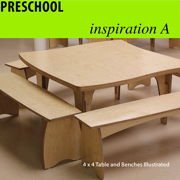 Natural Pod - Inspiration - Preschool - A1 Collection