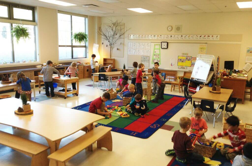 Calming the colours: a classroom makeover at Lynnmour Elementary has everyone breathing easy