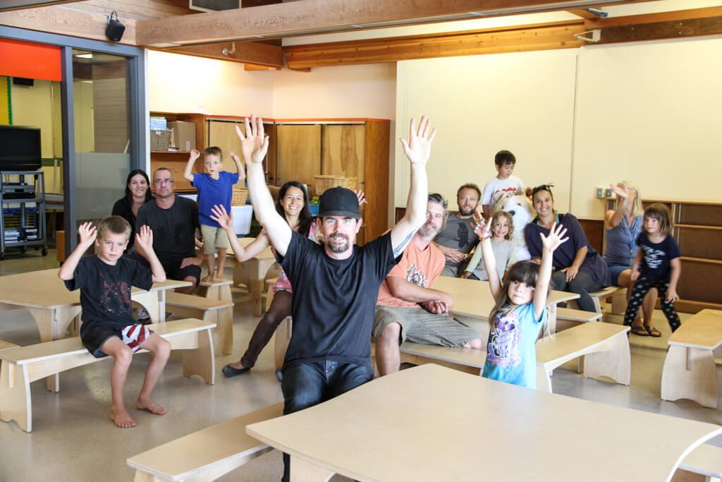 Fernwood Elementary: Installing New Furniture in the School