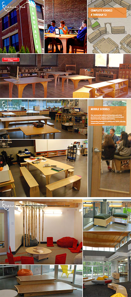 Natural Pod - K-12 Learning Environments