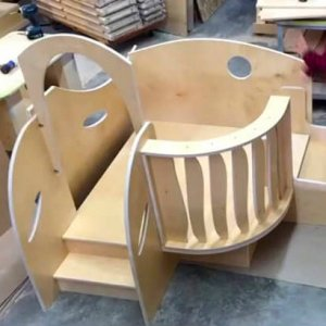 Natural-Pod-Play-Loft-for-Infants-and-Toddlers-Set-Up