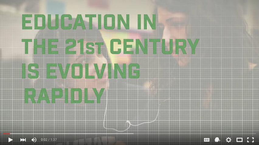 Video: Sustainability Drives Innovation in 21st Century Learning