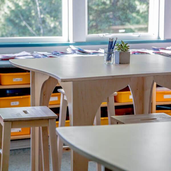 Standing Desks Natural Pod