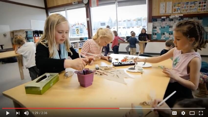Watch: Innovative Learning Using Our Natural Pod Standing Desks for Children