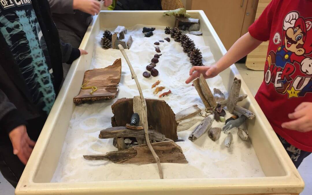 Providing Natural Materials to Encourage Exploration