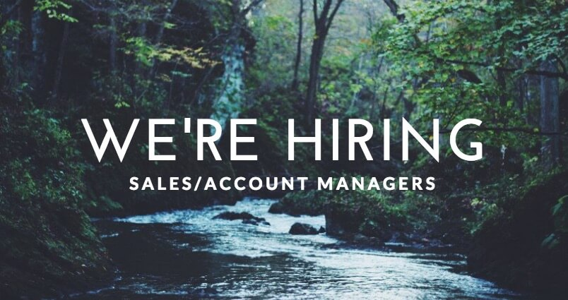 We're Hiring – Sales Account Manager