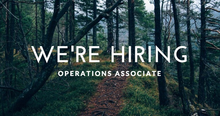 We're Hiring – Operations Associate