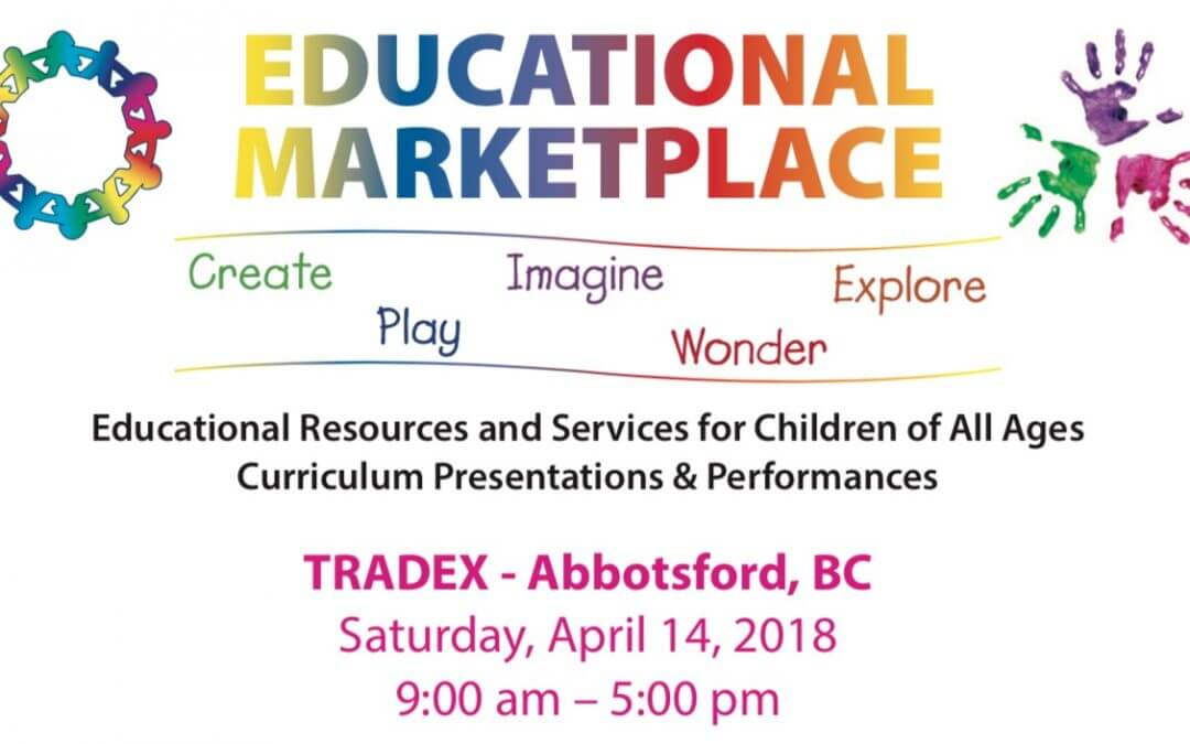 Join Us at the 2018 BC Primary Teachers' Association Educational Marketplace