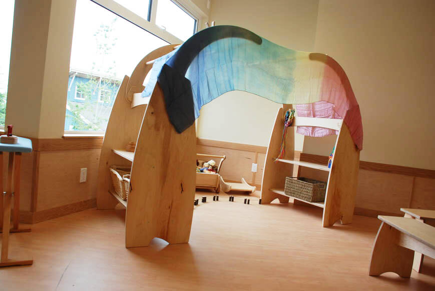 Play Stand with Arch: Creating Play And Learning Spaces – Part 3 of 3