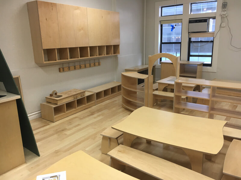New Project Install Photos – Children's All Day School In New York, NY
