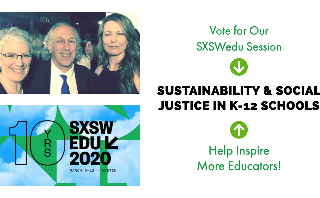 Vote for Our SXSWedu Session – Help Inspire More Educators!