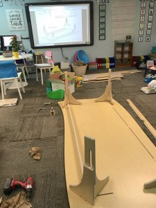 Natural Pod – River City Science Academy – constructing table