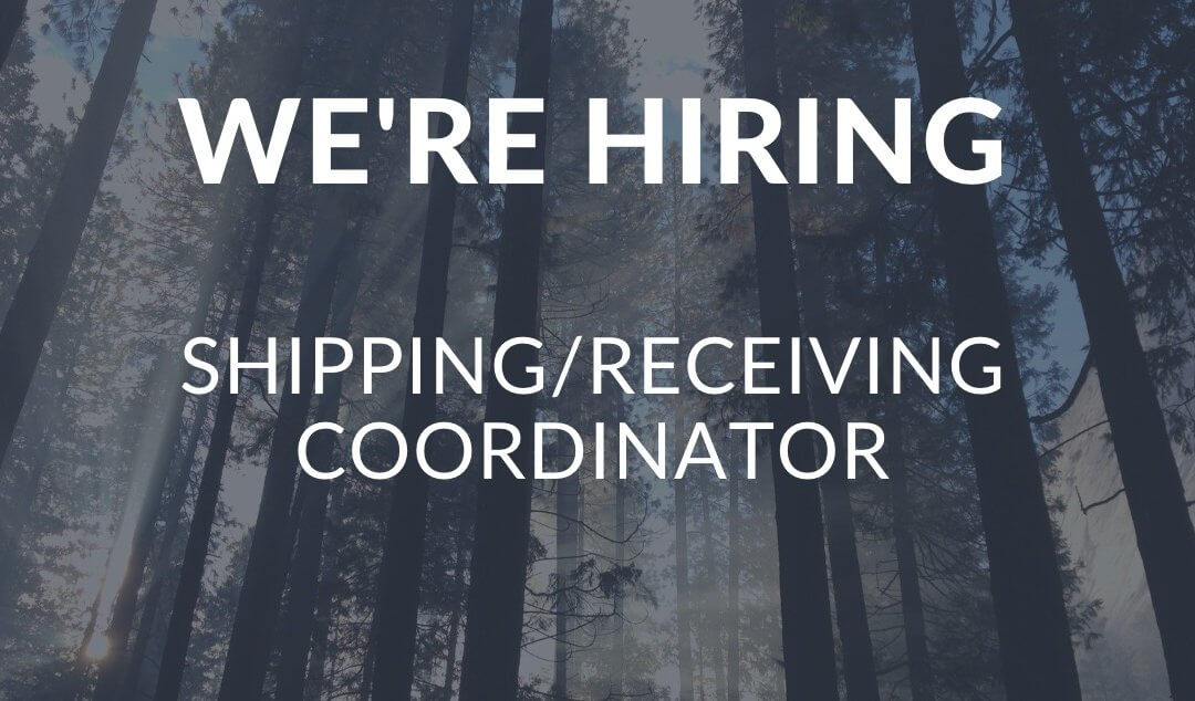 Hiring: Shipping/Receiving Coordinator