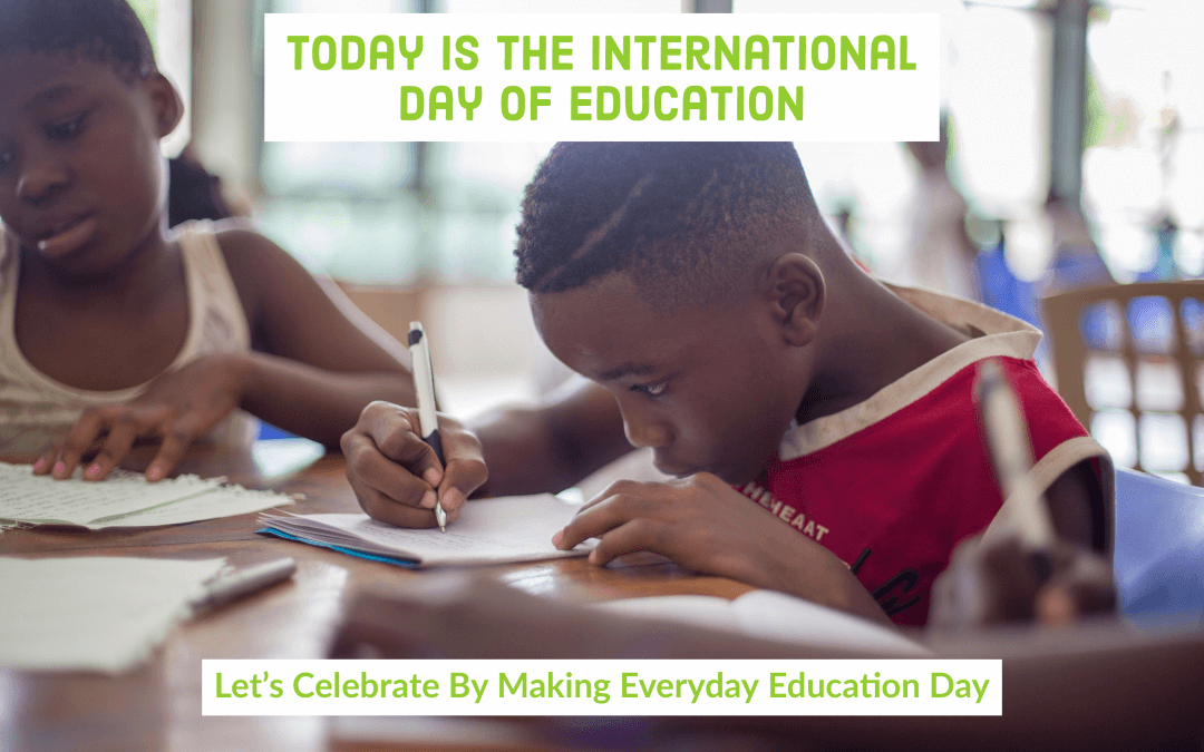 International Day of Education – Learning For People, Planet, Prosperity, And Peace