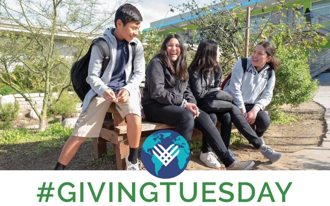 Giving Tuesday Is Here! Help Support Social And Environmental Justice In Schools