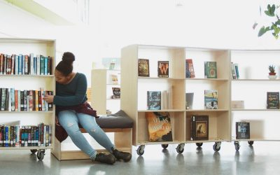 Innovative Shelving That Supports Physical Distancing And Adaptable Learning Spaces