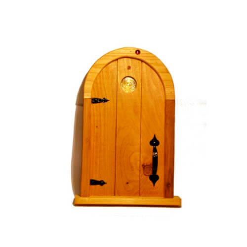 Fairy door large natural pod for Large gnome doors